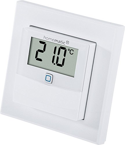 Homematic IP Temperatur- und Luftfeuchtigkeitssensor mit Display – innen, 150180A0