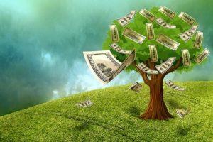 geld auf bäumen