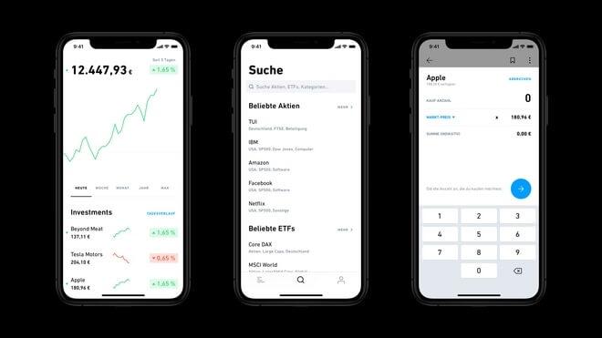 Trade Republic Broker Trading App