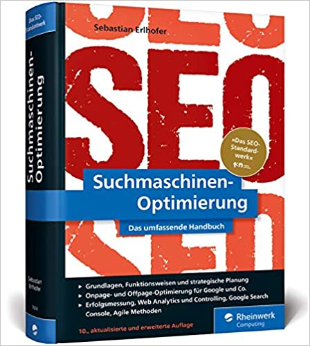 Buch zur Google SEO Optimierung