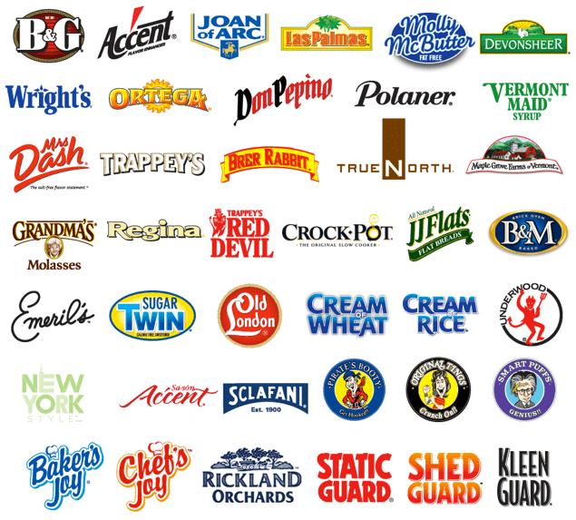 Marken von B&G Foods
