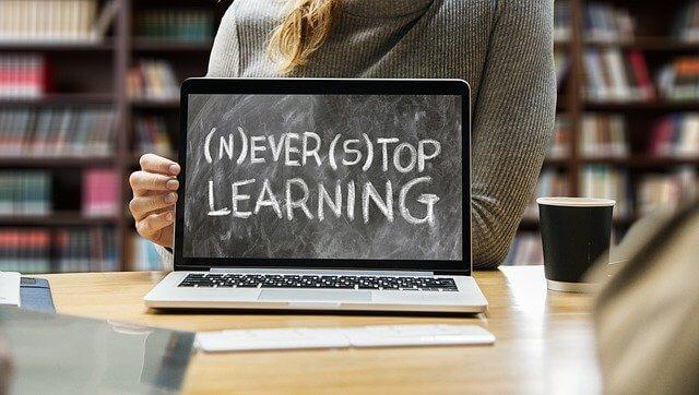 Niemals aufhören zu lernen
